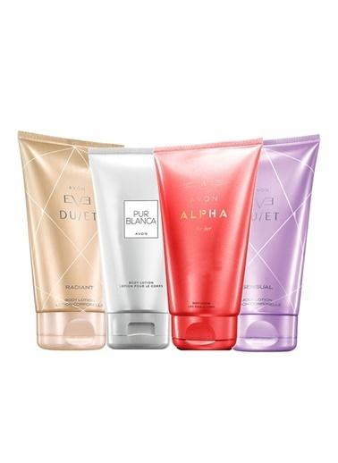 Avon Eve Duet Alpha Pur Blanca Vücut Losyonları 4lü Paket Renksiz